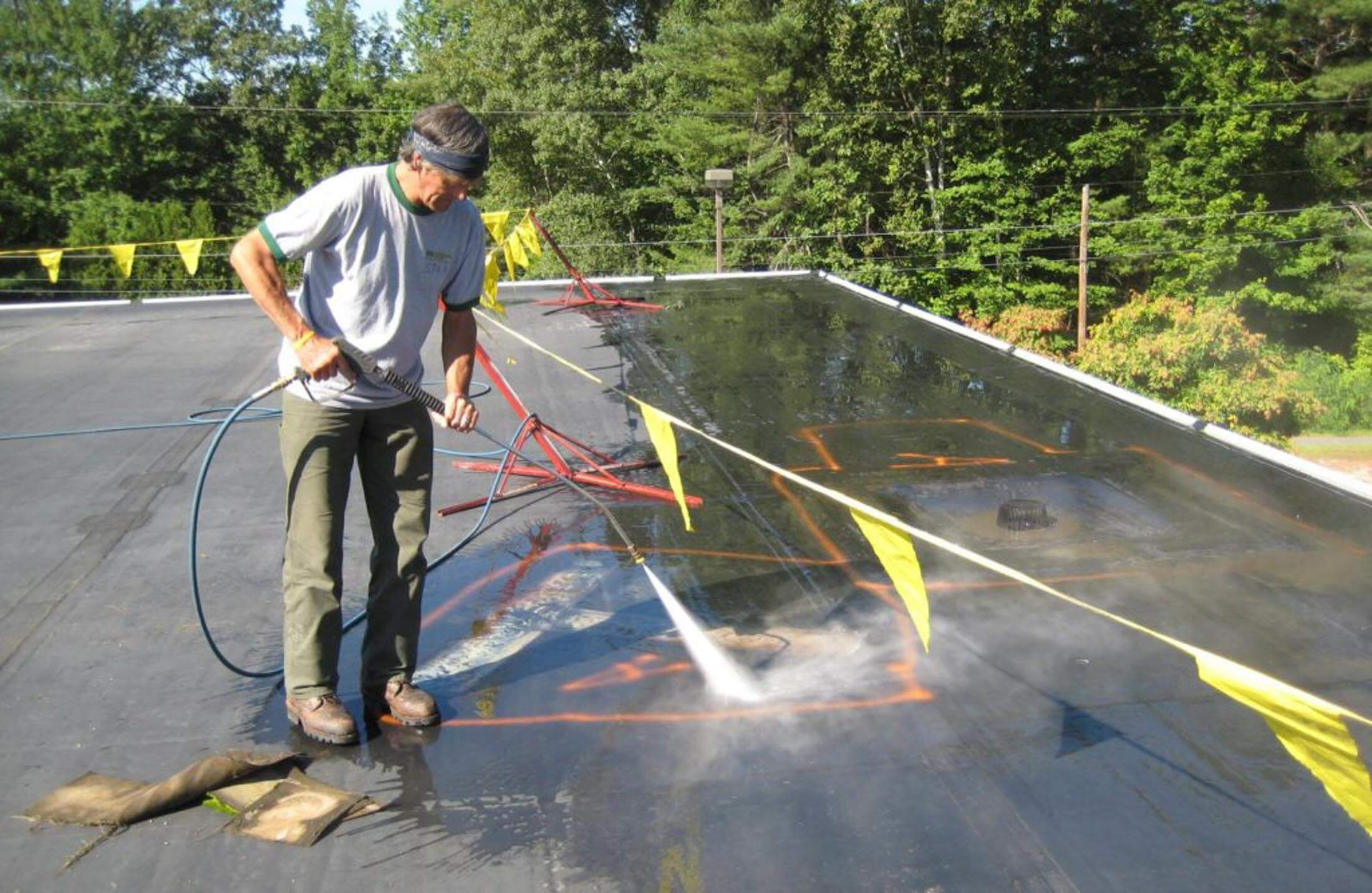 industrial roofing companies roof management services