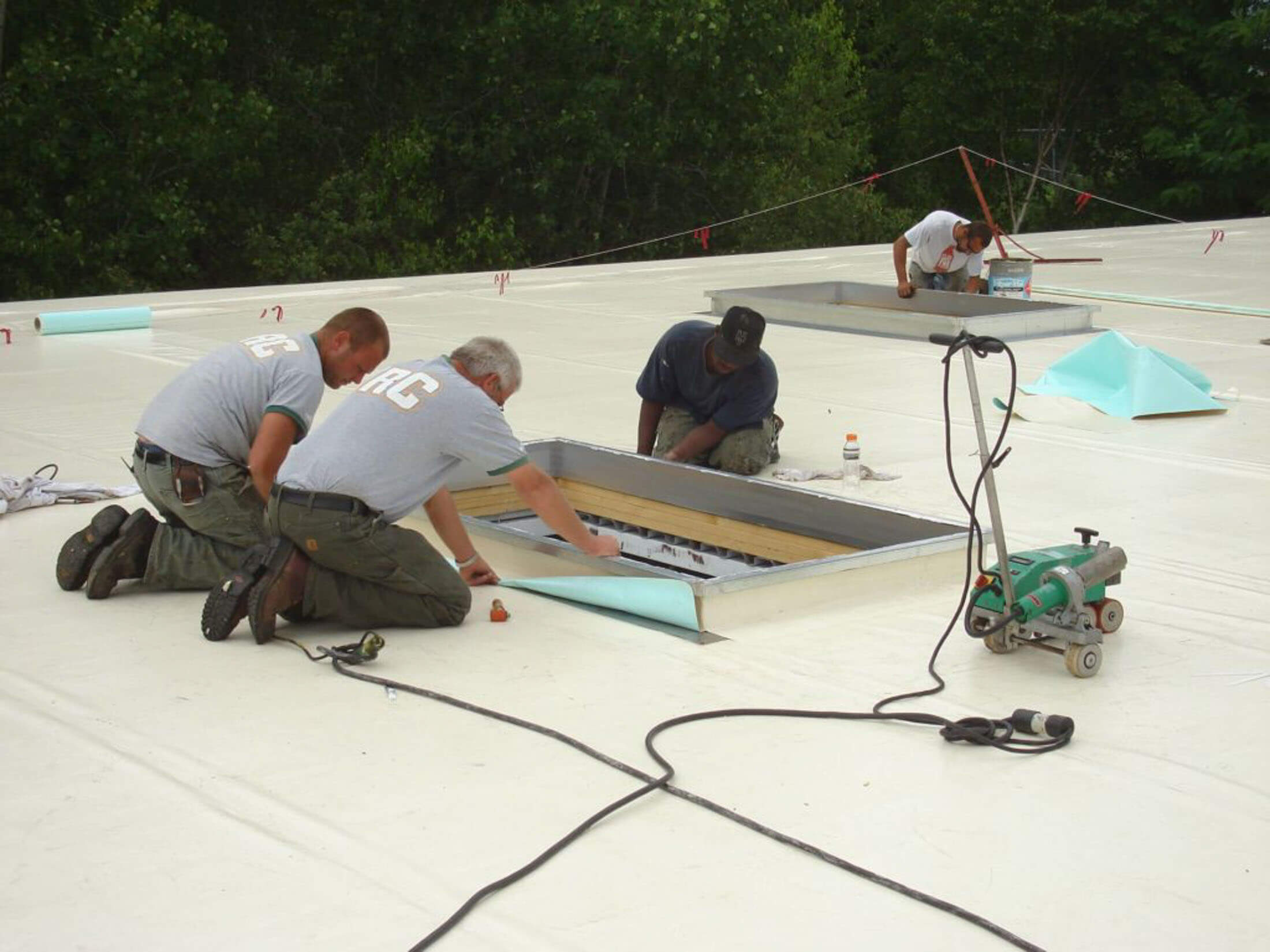 industrial roof management and replacement services